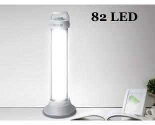 Мощный кемпинговый фонарь DP-7124 Аккумуляторный 82 Led светодиода