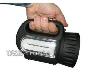 Ручной светодиодный аккумуляторный фонарь SS-5805-2