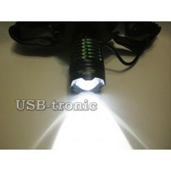 Синий светодиодный налобный фонарь HL-K-12-2 Белый и синий светодиоды