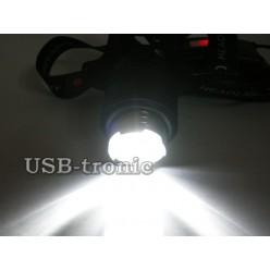 Мощный налобный фонарь JIN-33M-P50 светодиод XHP50 3x18650