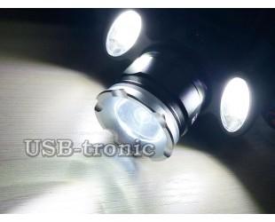 Налобный аккумуляторный фонарь BL-C862-T6 или YT-1600 мощные светодиоды XML и COB