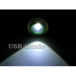 Фонарь налобный светодиодный HL-T107 с 2 аккумуляторами 18650