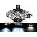 Налобный аккумуляторный фонарь H-T477 5 фар