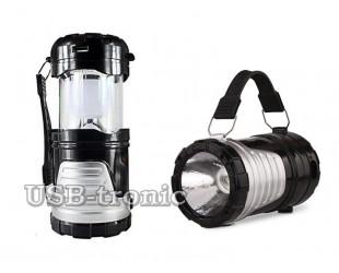 Светодиодный фонарь для кемпинга GSH-7099 Складной корпус 25х10 см