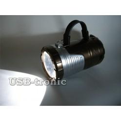 Большой складной фонарь для кемпинга GSH-7099 25х10 см