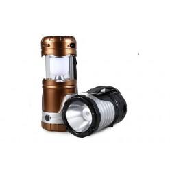 Большой светодиодный фонарь для кемпинга GSH-7099 Складной корпус 25х10 см