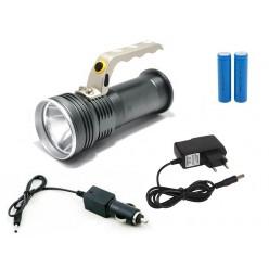 Ручной аккумуляторный фонарь YYC-3407 с зумом (zoom)