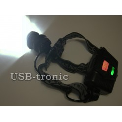 Мощный налобный фонарь P-8070 светодиод P50 3x18650