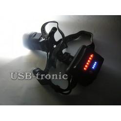 Мощный налобный фонарь P-V69-P90 светодиод P90 3x18650