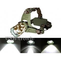 Светодиодный фонарь на лоб LY-003-T6 с 2 аккумуляторами 18650