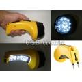Ручной аккумуляторный фонарь с вилкой для зарядки LY 826-B 15+10 LED