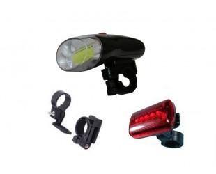 Набор велосипедных фонарей BL-308 Цена - 199 рублей