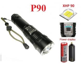 Мощный ручной фонарь YYC-717 светодиод XHP-90 1 аккумулятор 18650