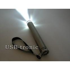 Фонарик с лазерной указкой на батарейке АА