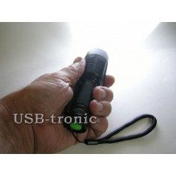 Ручной аккумуляторный фонарик MX-1871 светодиод Cree T6 1 x 18560 Металлический корпус