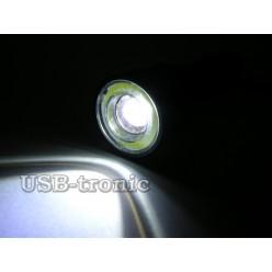 Ручной аккумуляторный фонарик MX-1876 светодиод Cree T6 1 x 18560 Металлический корпус