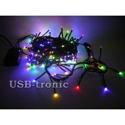 """Светодиодная гирлянда """"Цветной фейерверк"""" 240 LED 5 метров"""