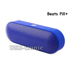 Колонка Beats Pill + Bluetooth с USB (синяя)