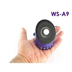 Мини FM радиоприемник Wster A9 с MP3 плеером Синий