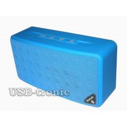 Беспроводная мини акустика с mp3 №3 Синяя
