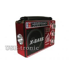 Переносной аналоговый радиоприемник WAXIBA XB-1043 URT c mp3