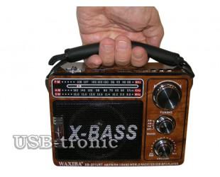 Переносной радиоприемник с MP3 WAXIBA XB 201 URT с радио и MP3 плеером