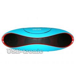 Мини колонка Beats Boombox c USB и TF Neon  21 см