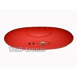 Мини колонка Beats Boombox c USB и TF Красная 21 см