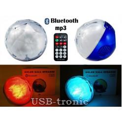 Цветомузыкальная Bluetooth колонка c USB плеером Color Ball Speaker Q8