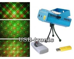 Лазерная цветомузыка диско лазер Созвездие