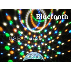 Диско шар Сфера BLUETOOTH Led Magic Ball Light с MP3 плеером 6 цветов Без кнопок