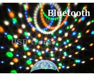 Диско шар Сфера BLUETOOTH Led Magic Ball Light с MP3 плеером и с блютуз 6 цветов