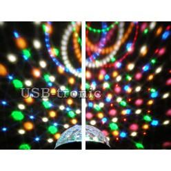 """Набор лазерной и светодиодной цветомузыки """"Лайт"""" для домашней дискотеки"""