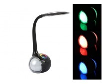 Сенсорный светодиодный светильник Flexible Desk Lamp RGB Night Light Черный корпус