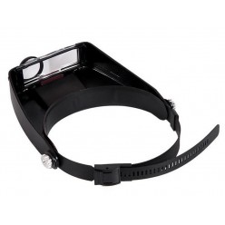 Налобная лупа очки с подсветкой MG81007