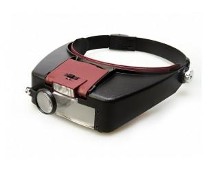 Налобные очки лупа с подсветкой Kromatech MG81007-A цена 599 рублей