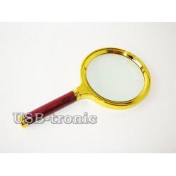 Увеличительная круглая лупа Magnifier линза 90 мм Кратность x5