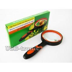 Увеличительная круглая лупа Magnifying Glass 75 мм Кратность x4