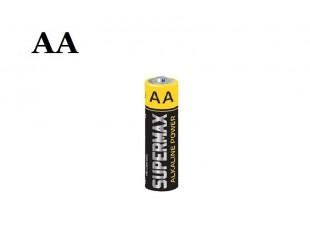 Пальчиковая солевая батарейка Supermax AA 1 шт