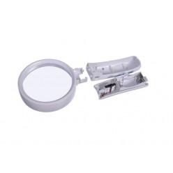 Увеличительная лупа с подсветкой 77390B линза 90 мм Кратность x5