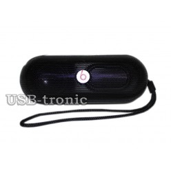 Mini колонка Beats Pill Bluetooth c mp3 и радио. Black.