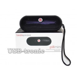 Mini колонка Beats Pill Bluetooth c mp3 и радио Black