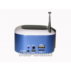 Мини FM радиоприемник Wster-3188 с MP3 плеером