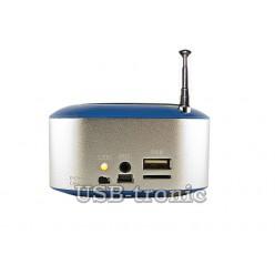 Мини FM приемник с MP3 плеером с USB-TF входами WS-3188