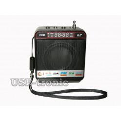 Радиоприемник с мп-3 плеером Wster WS-918 Черный