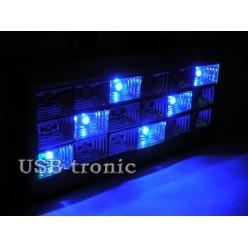 Стробоскоп цветной LED Room Strobe 18 LED  с микрофоном