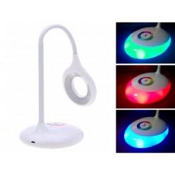 Сенсорный ночник светильник с цветной светодиодной подсветкой