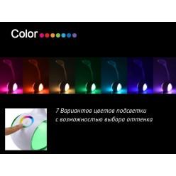 Сенсорный светодиодный светильник Flexible Desk Lamp RGB Night Light