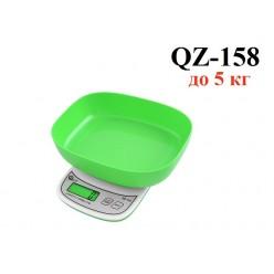 Электронные весы с чашей QZ-158 до 5 кг