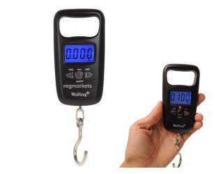 Весы для багажа безмен электронный WH A17 до 45 кг